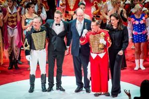 Il momento della premiazione all'ultimo festival di Monte-Carlo (foto Andrea Giachi)
