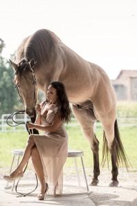 Alcune im-magini di Laura Magic Horse Show (foto di Daniele Rotondo e dell'archivio dell'artista)