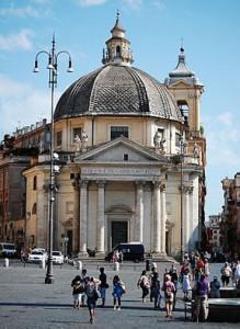 La Chiesa deli Artisti in piazza del Popolo a Roma