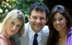 Fabrizio Frizzi, Belen Rodriguez e Laura Freddi