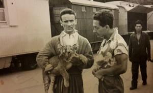 Oscar Caroli (col leoncino in braccio). Si ringrazia Andrea Giachi per le fotografie