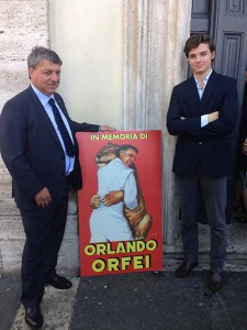La famiglia Togni era rappresentata da Flavio e Bruno