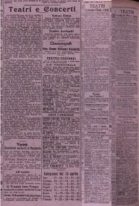 La documentazione emerografica, i ritagli di giornale, utilizzati dallo storico Marco Martini per realizzare questo articolo.