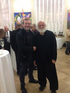 Alessandro Serena con Slava Polunin