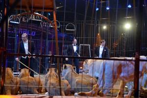 """Giuseppe """"Massimiliano"""" Nones (Oro 1987), Martin Lacey Jr (Oro 2010) e Nikolai Pavlenko"""