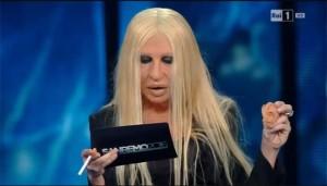 In versione Donatella Versace