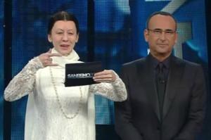 Virginia Raffaele nella stupenda imitazione di Carla Fracci a Sanremo