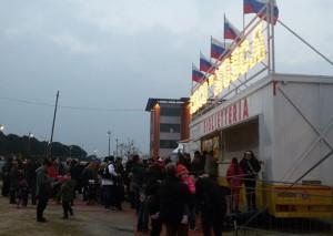 Circo di Mosca, Pescara