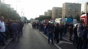 La manifestazione in corso in Francia in difesa del circo con animali