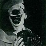 Vittorio Saly in una foto pubblicata dal mensile Circo dicembre 1970