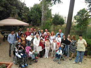 Leris coi bambini e i genitori al Bambin Gesù