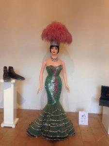Un costume degli anni 60 di Moira Orfei in mostra a Lonato