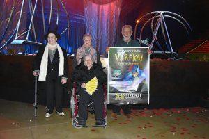 Alcune immagini (di Erica Poggianti) degli ospiti di Sandicci allo spettacolo Varekai.