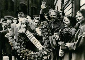 Popov col Circo di Stato russo a Londra nel 1969