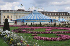 Il circo Roncalli a Ludwigsburg